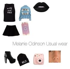 """melaine"" by carrollgabriel on Polyvore featuring Miss Selfridge, Max&Co., Jeffrey Campbell, American Eagle Outfitters, Fujifilm and Lime Crime"