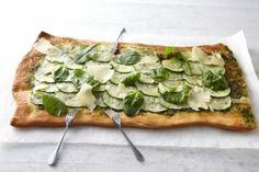 Recette de pizza verde