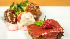 Maria Poproch: Brownie z musem malinowym Masterchef Junior, Meatloaf, Steak, Beef, Food, Meat, Meat Loaf, Eten, Ox