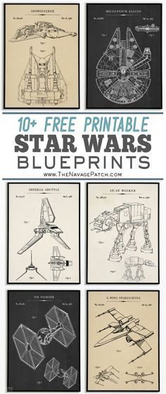 Theme Star Wars, Star Wars Baby, Tie Fighter, Printable Star Wars, Playlists, At-at Walker, Watercolor Wall, Star Wars Bedroom, Star Wars Crafts