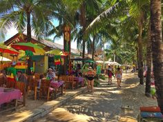 This is the strip of bars on Kamala Beach inhellip