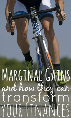 By concentrating on improving and making 1% marginal gains on your financial situation, you can have much greater success than going for the big wins.