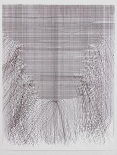 visualmixtape:  Fernando de Brito large - scale ballpoint pen...