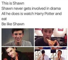 IF EVERYONE WAS LIKE SHAWN I'D BE SOOOOO CONTENT