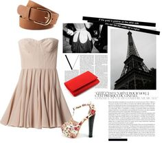 """A day out in Paris"" by michaela0908-1 on Polyvore"