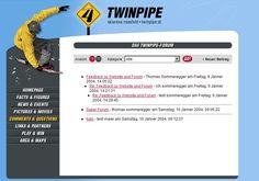 twinpipe.at 2004 Redaktionssystem. Konzept, Design & Homepage: Thomas Sommeregger I Have Done, Design, Concept, Summer
