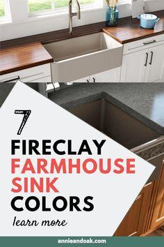 Fireclay Farmhouse Sink, Fireclay Sink, Farmhouse Sink Kitchen, Farm Sink, Kitchen Sinks, Shabby Chic Kitchen, Modern Farmhouse, Farmhouse Style, Farmhouse Decor