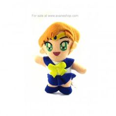 Sailor Moon Sailor Uranus Plush for sale Sailor Moon Toys, Sailor Moon Art, Sailor Moon Merchandise, Sailor Uranus, Hang Tags, Key Chain, Plush, Fan Art, Japanese