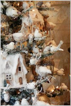 Woodland Rustic Christmas Tree :: My Heart's Song