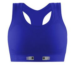 034fae710328f The adidas miCoach Seamless Sports Bra from NuMetrex monitors heart rate  without the uncomfortable strap