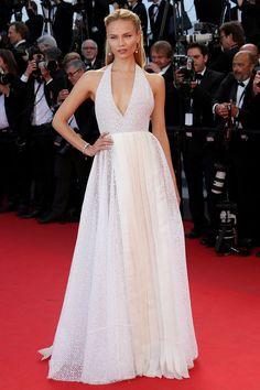 cannes film festival 2014 natasha poly white gown