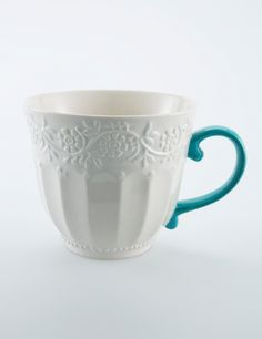 LALITA mug turquoise | Mugs/cups | Ceramic/glass | Glass and Porcelain | Interior | INDISKA Shop Online