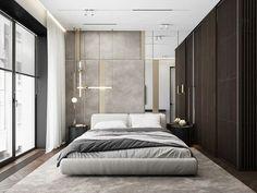 Kitchen With Big Island, Apartment Door, Classic Lighting, Loft, Deco Design, Luxurious Bedrooms, Living Area, Behance, Master Bedroom