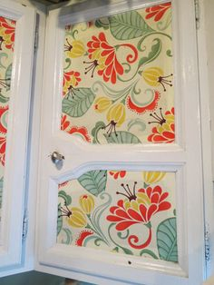 The View From The Trenches: DIY Fabric Faced Cabinets