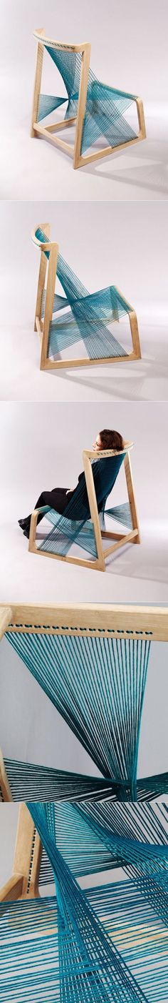 Perfect Amazing Chair Design By AlviDesign Via: UDo Mag Http://udomag.com/site/silk Strings/  | Pinterest | Chairs, Of And Furniture Design
