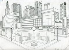 2 POINT PERSPECTIVE - TTO 3