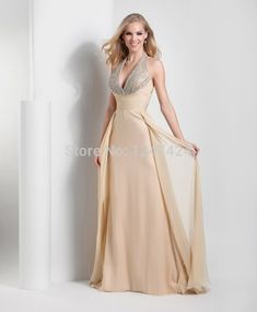 1dba8b1f444 Champagne Wedding Colors Evening Gowns