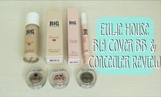 [Review] Etude House Big Cover Concealer BB and Cushion Concealer   Monkey Wish Eyeshadows