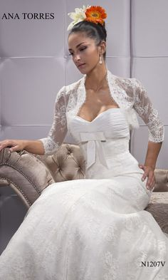 Ana Torres gown.