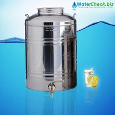 Say goodbye to plastic water bottles with our convenient lightweight water transport Sansone Stainless Steel #WaterDispenser. Click here to buy