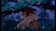 Simba and Nala Simba E Nala, Kiara Lion King, Roi Lion Simba, Lion King 3, Lion King Fan Art, Lion King Movie, Le Roi Lion Disney, Simba Disney, Old Disney