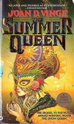 Michael Whelan - Summer Queen Science Art, Science Fiction, Sci Fi Books, Snow Queen, Sci Fi Fantasy, Vintage Art, Illustrators, Weird, Horror