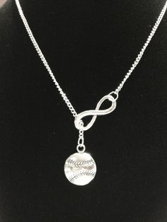 Infinity I Love Baseball Softball Mom Forever Y Lariat Necklace by HeavenlyCharmed on Etsy https://www.etsy.com/listing/199170048/infinity-i-love-baseball-softball-mom
