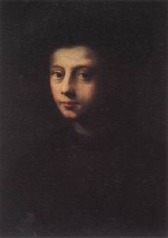 PULIGO, Domenico (b. 1492, Firenze, d. 1527, Firenze)   Click! Portrait of Pietro Carnesecchi  - Oil on wood, 59,5 x 39,5 cm Galleria degli Uffizi, Florence  This painter (actual name Domenico Ubaldini), the pupil of Ridolfo del Ghirlandaio, was attracted by the grandiose style of Fra Bartolomeo and Andrea del Sarto. Although he imitated these masters, he succeeded only in weakening their forms, rendering them mawkish and insufficiently incisive