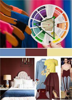 Профессиональная технология создания сочетаний. Цветовой круг     Модные сочетания 2016 title=