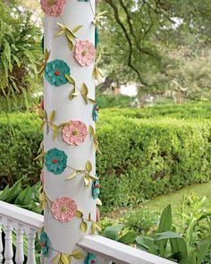 Paper Flower Garland - Paper Garland - Paper Garlands