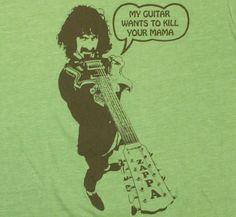 Frank Zappa / Kill Your Mama Tee (Heather Green)