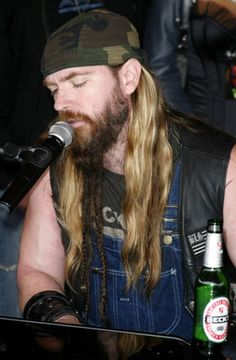Zakk Wylde!!! Crystals Note: he looks so much like my brother here.