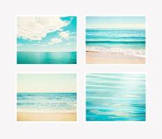 Turquoise Ocean Wall Art Set by carolyncochrane.com