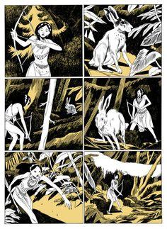 Loic Locatelli-Kournwsky's 'Pocahontas: Princess of the New World'