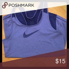 Nike Pro dri-fit top size M Worn only once, too tight! Awesome Nike Pro dri-fit top. Nike Tops Tank Tops