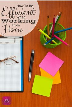 Working from home is difficult whether you have children or are single, but with these tips anyone can work from home efficiently! http://www.budgetblonde.com/2015/04/15/how-to-be-efficient-when-you-work-from-home/