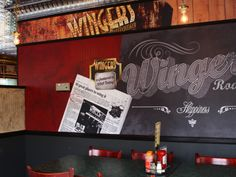 The New Wingers Image - Roadhouse Style #Decorworx #Wingers