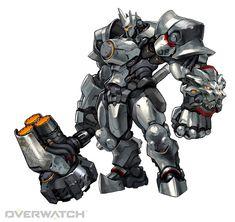 「オーバーウォッチ」,頑強な鎧を身にまとった「ラインハルト」や弓と暗殺の名手である「ハンゾー」など6人のヒーローを紹介しよう - 4Gamer.net
