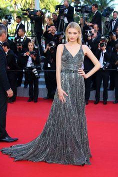 "Festiwal Filmowy w Cannes 2015: Lily Donaldson na premierze filmu ""Inside Out"", fot. East News"