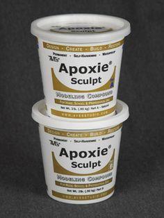 Apoxie® Sculpt SUPER COOL stuff