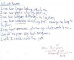 "Year 5 Poetry inspired by ""The Red Tree"" by Shaun Tan - LendMeYourLiteracy"