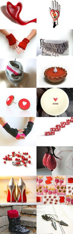 Valentine Love by Deb on Etsy--  Thank you for featuring my shoe clips! http://sofisticata.etsy.com