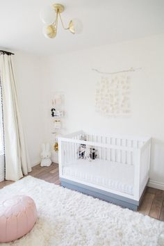 The last time I featured Sailor's nursery was when she was a newborn, and we had just finished decorating it in our West Hollywood apartment. A lot has changed since then. We moved into our h…