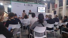 Presentación de Bookwire en Liber: una plataforma de distribución de Ebooks para editoriales independientes
