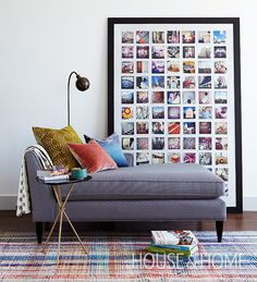 How To Decorate A Rental Apartment - Decoration Display Family Photos, Piece A Vivre, Home And Deco, Decorating Your Home, Decorating Ideas, Decor Ideas, Rental Decorating, Interior Decorating, Cheap Home Decor