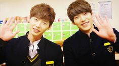 Kim Woo Bin says he and Park Hyung Sik aimed to win the Best Couple Award in Heirs