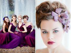 bridesmaids headpieces - Google Search