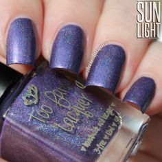 Too Fancy Lacquer: Mesmerized