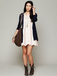 Free People Crochet Inset Cardigan http://www.freepeople.co.uk/clothes-knitwear-cardigans/lace-inset-cardi/