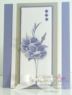Fabulous Florets by tyque - Cards and Paper Crafts at Splitcoaststampers
